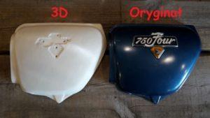 Druk 3D części motocyklowych