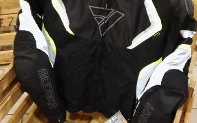 Kolejne nagrody na Atomowy zlot motocyklowy tym razem od firmy Modeka, kurtka Etosha.