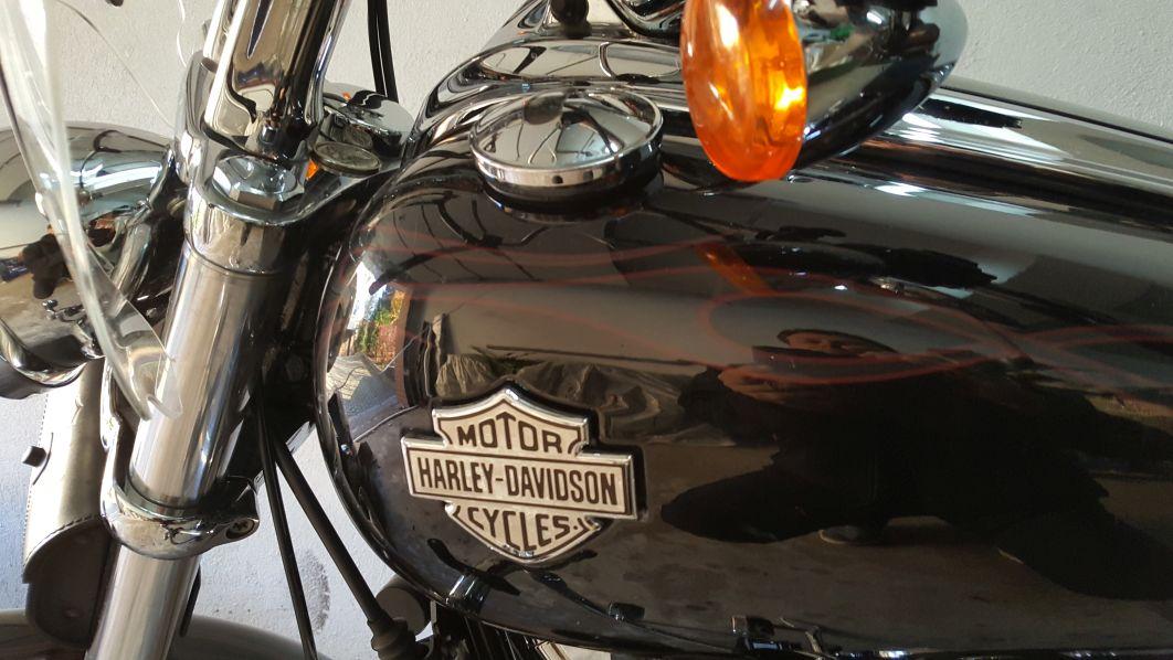 Harley Davidson FXCWC 1600 Softail Rocker 2009r