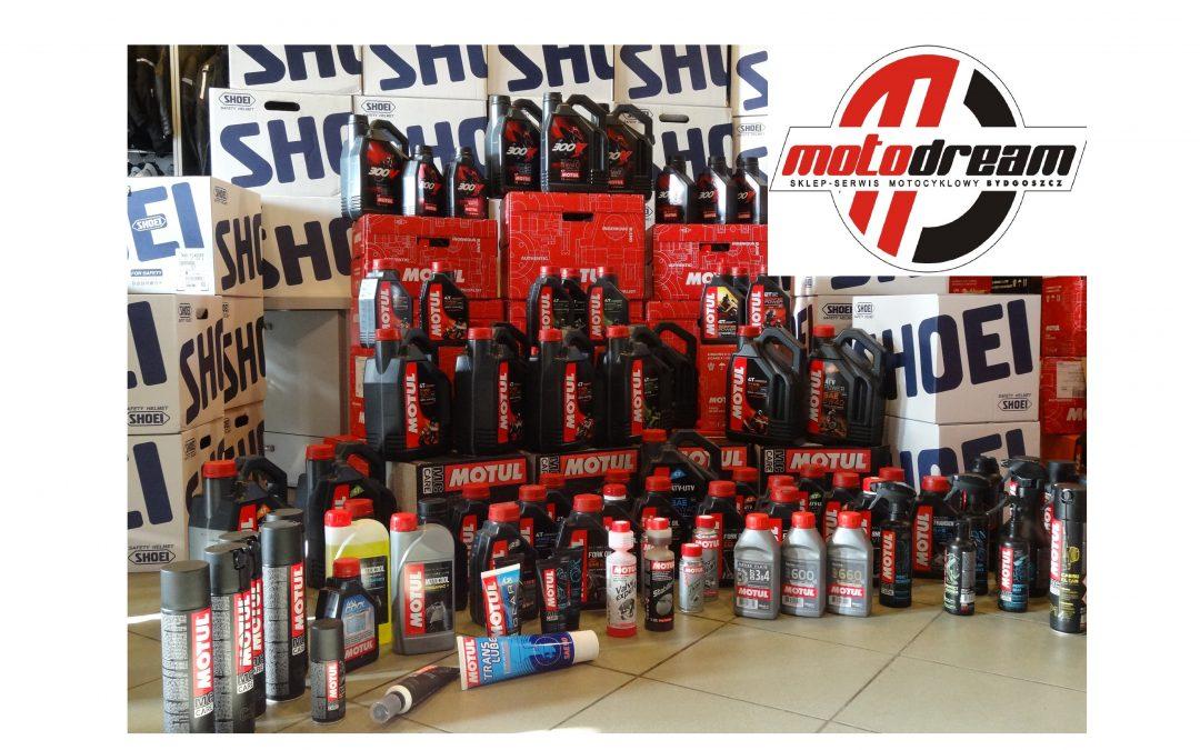 W naszym sklepie jest dostępnych już ponad 100 różnych produktów od MOTUL!