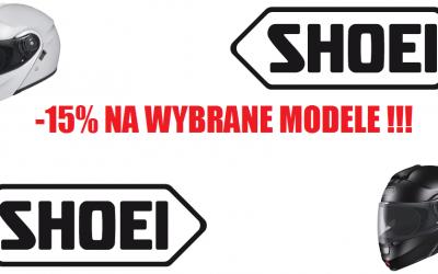 Promocja na wybrane kaski od SHOEI – 15% do 14 Lipca ! Kup swój nowy kask w super cenie !